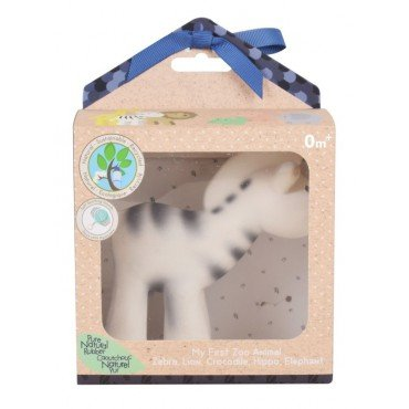 Tikiri TEETHING TOY ZEBRA IN THE BOX