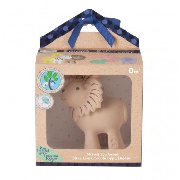 Tikiri TEETHING TOY LION IN THE BOX