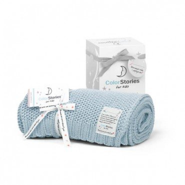 ColorStories - Blanket CottonClassic S - AQUA