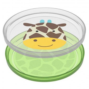 Skip Hop plate set 2 pc. Zoo Giraffe