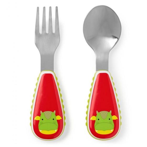 Skip Hop Zoo Dragon Cutlery