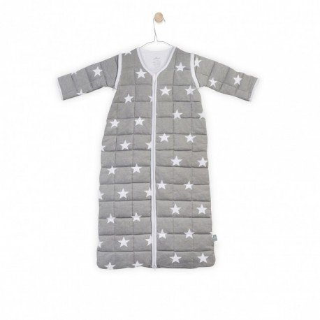 Jollein Sleeping bag to sleep with removable sleeves Gray
