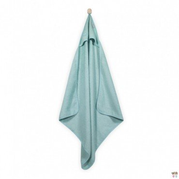 Jollein soft towel with hood 75x75cm Mint