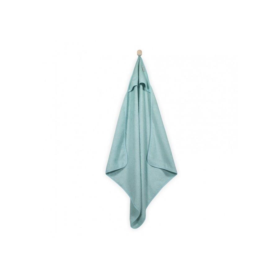 Jollein Mięciutki ręcznik z kapturem 75x75cm Miętowy