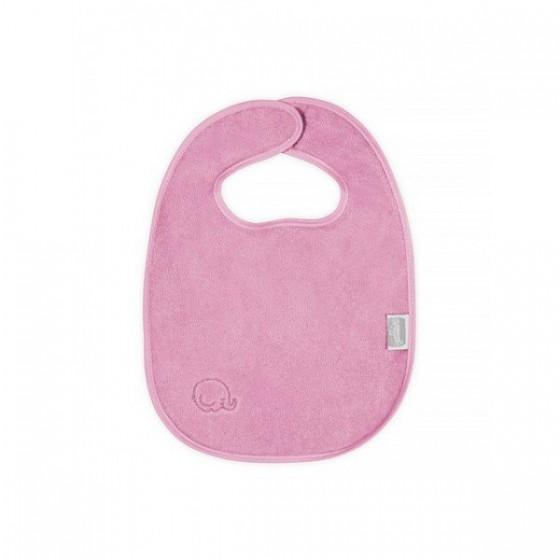 Waterproof cotton bib Jollein Pink