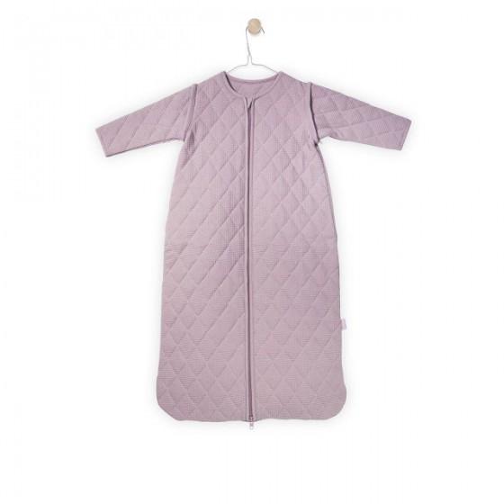 Jollein Śpiworek do spania z odpinanymi rękawami Mini waffle Brudny róż 0-6 miesięcy