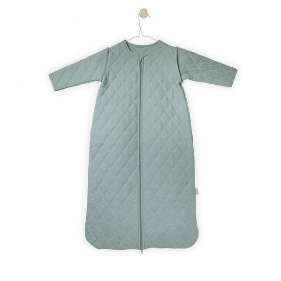 Jollein Śpiworek do spania z odpinanymi rękawami Mini waffle Miętowy 6-18 miesięcy