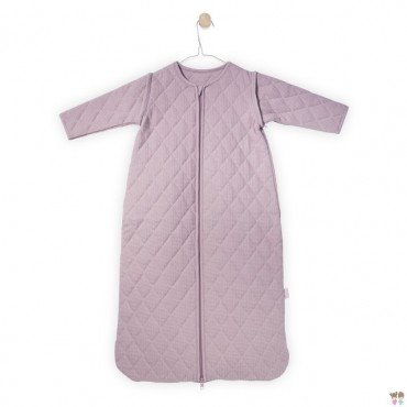 Jollein Sleeping bag to sleep with removable sleeves pink mini waffle Dirty 6-18 months