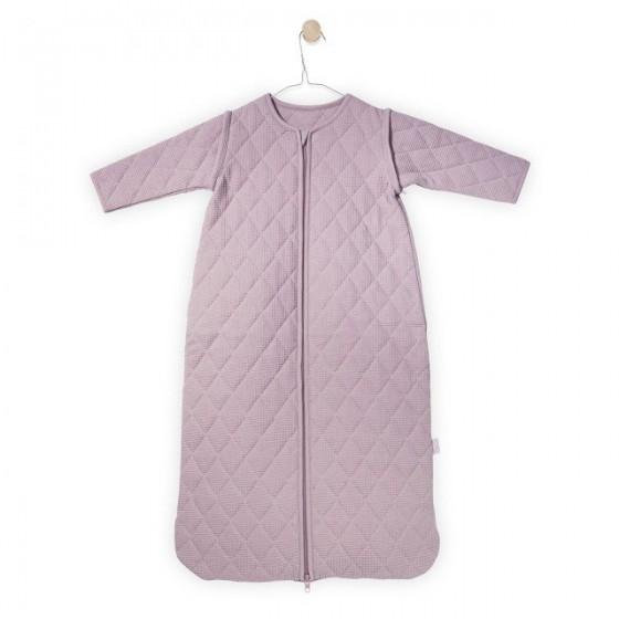 Jollein Śpiworek do spania z odpinanymi rękawami Mini waffle Brudny róż 6-18 miesięcy