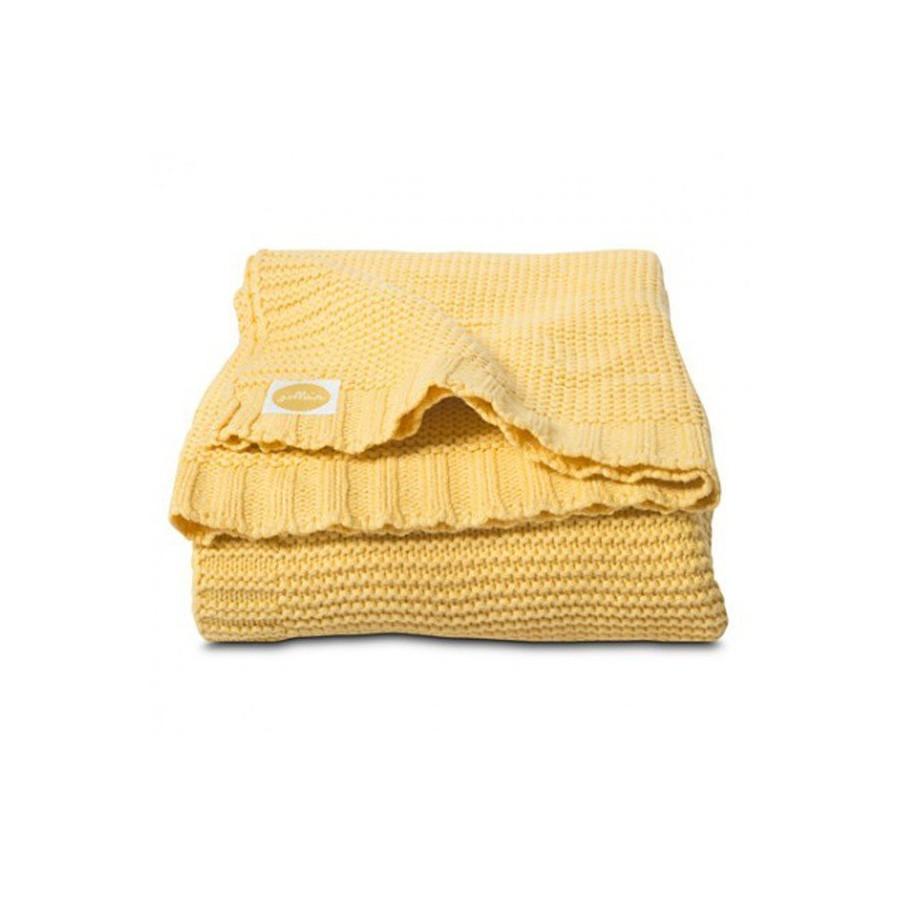 Jollein woven blanket Funky Chunky Yellow