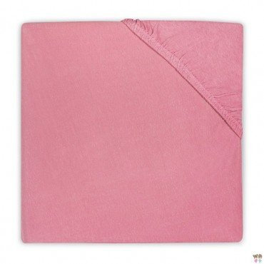 Jollein sheet with rubber for baby Raspberry