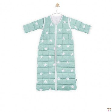 Jollein Sleeping bag to sleep with removable sleeves Mint Little Star 0-6 months