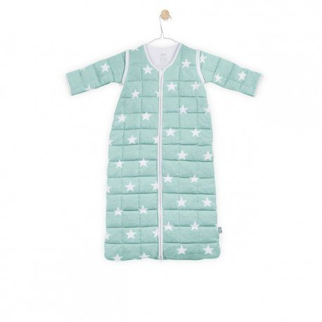 Jollein Sleeping bag to sleep with removable sleeves Mint
