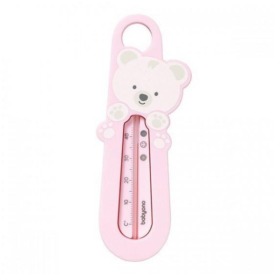 Babyono Termometr do wody - różowy