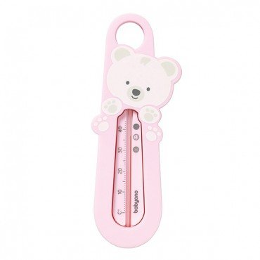 BabyOno thermometer into the water - pink