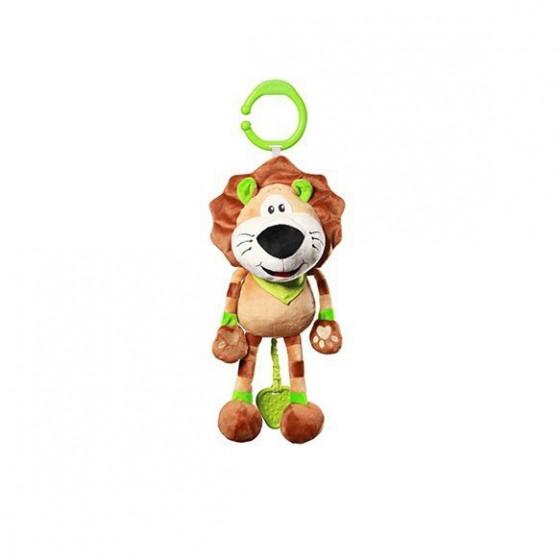Babyono Zabawka dla dzieci z pozytywką ALEX THE LION