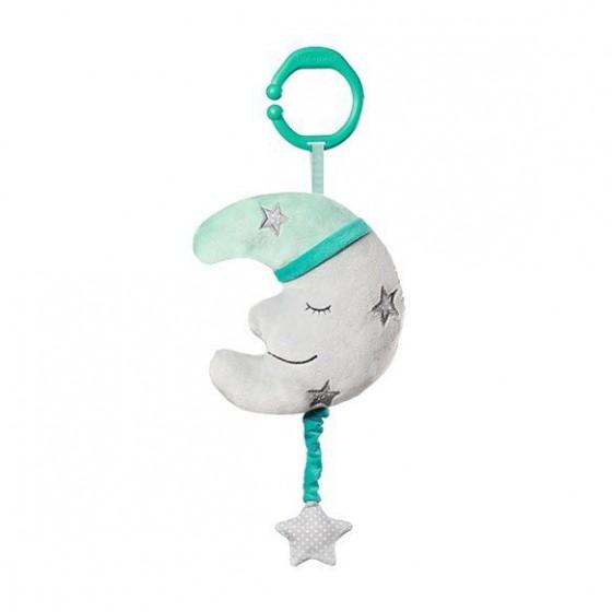 Babyono Zabawka dla dzieci z pozytywką HAPPY MOON