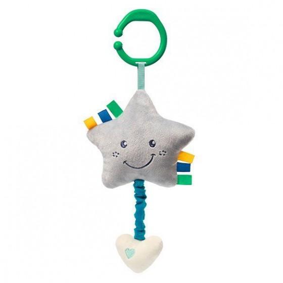 Babyono Zabawka dla dzieci z pozytywką LULLABY STAR