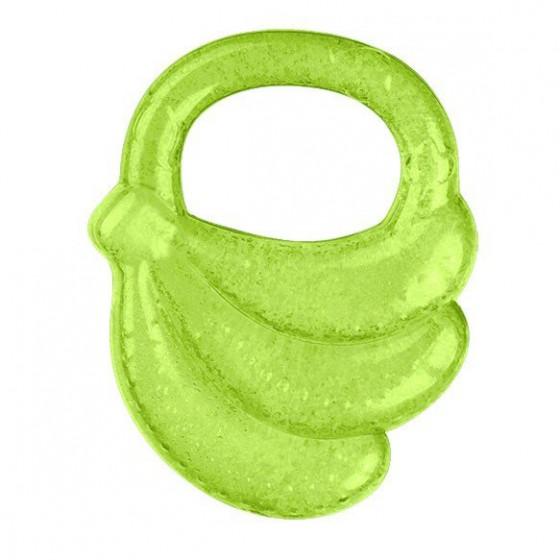 Babyono Żelowy gryzak dla niemowląt banany- zielony