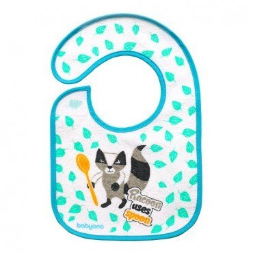 BabyOno bib terry JEM and grow - raccoon