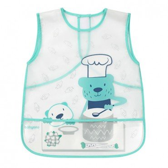 BabyOno Apron ACTIVE BABY - teddy cook