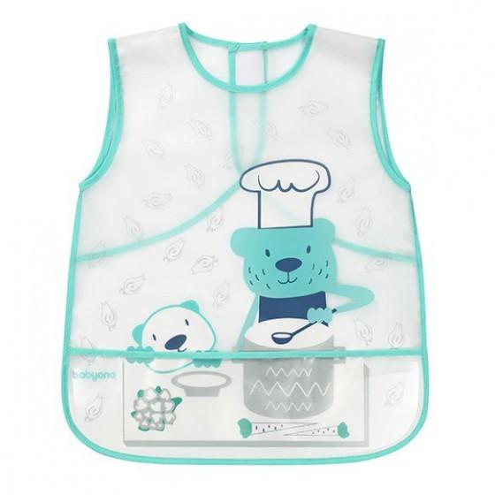 Babyono Fartuszek ACTIVE BABY - miś kucharz