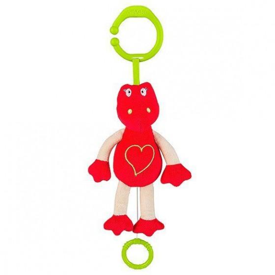 Babyono Zabawka dla dzieci z pozytywką KOCHAJĄCY DINO