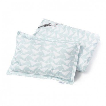 ColorStories - Pillowcases for bedding AQUA WHALES