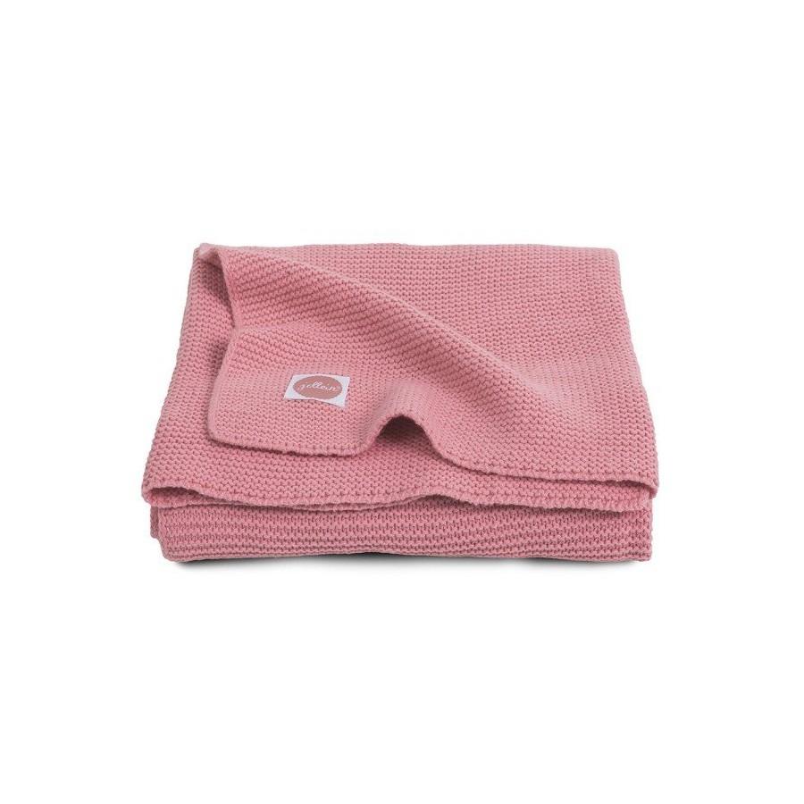 Jollein Basic knit blanket Coral 75x100cm