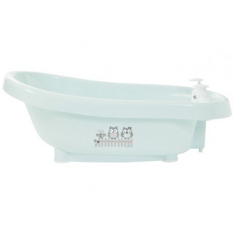 Bebe-Jou Baby Bath Thermo Mint armyworms with thermometer