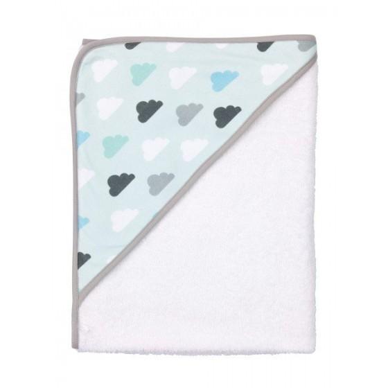 Bebe-Jou Soft Pastel Towel with cap cloud