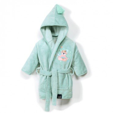 LA MILLOU SZLAFROK BAMBOO SOFT SMALL MINT YOGA CANDY SLOTH PINK