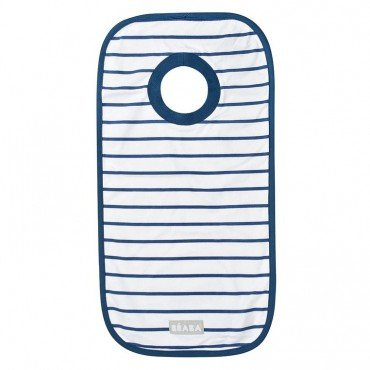 Beaba Bib Cotton Evolutive Stripes