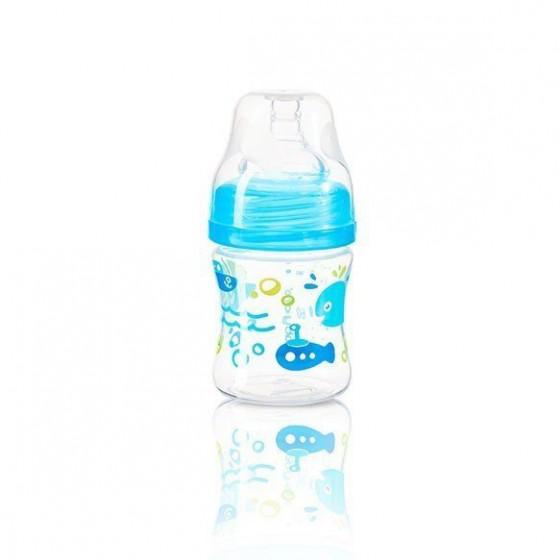 BabyOno 120ml bottle antykolkowa Width-BLUE