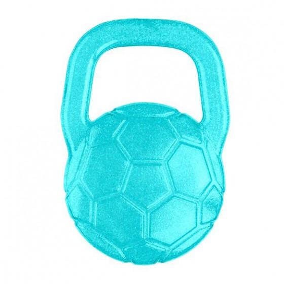 BabyOno Gel teether for babies ball - turquoise