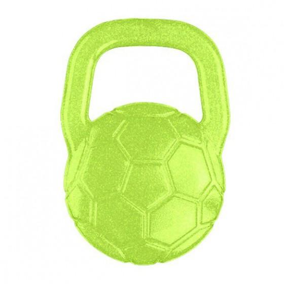 BabyOno Gel teether for babies ball - green
