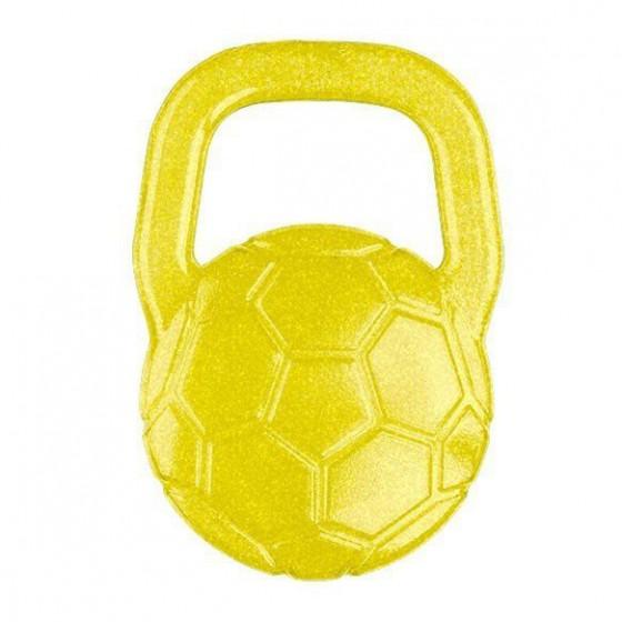 BabyOno Gel teether for babies ball - yellow
