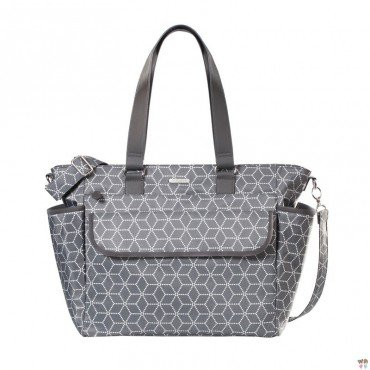 JOISSY TORBA FANCY GEOMETRIC GREY