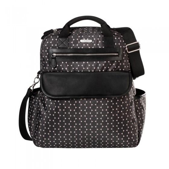 JOISSY BACKPACK BAG AND DUAL BLACK CIRCLE