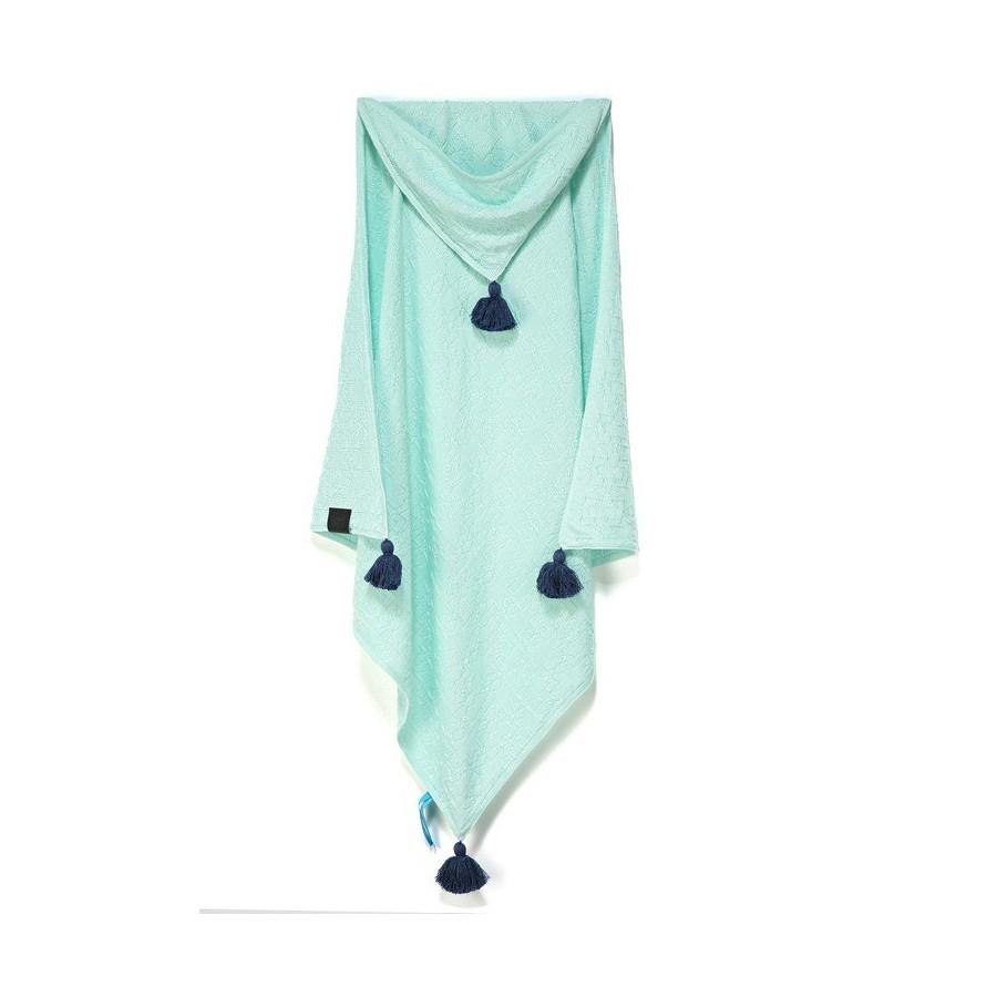 LA Millou blanket 100% BAMBOO® TENDER BLANKET MINT SORBET