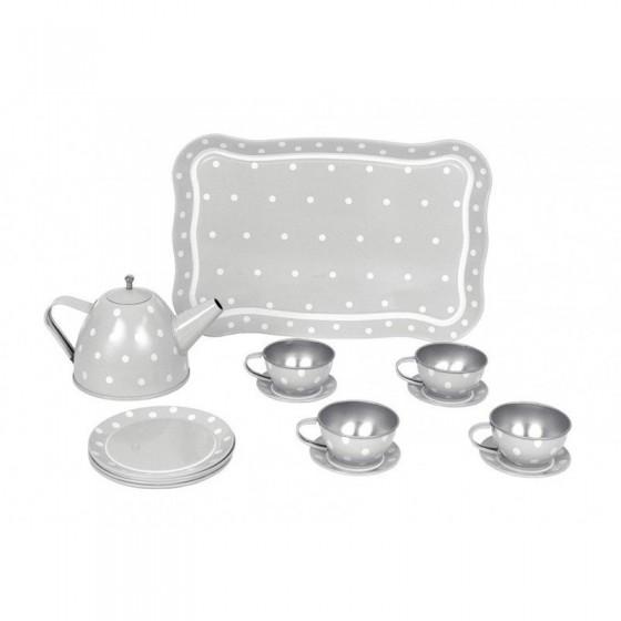 Jabadabado gray tea service