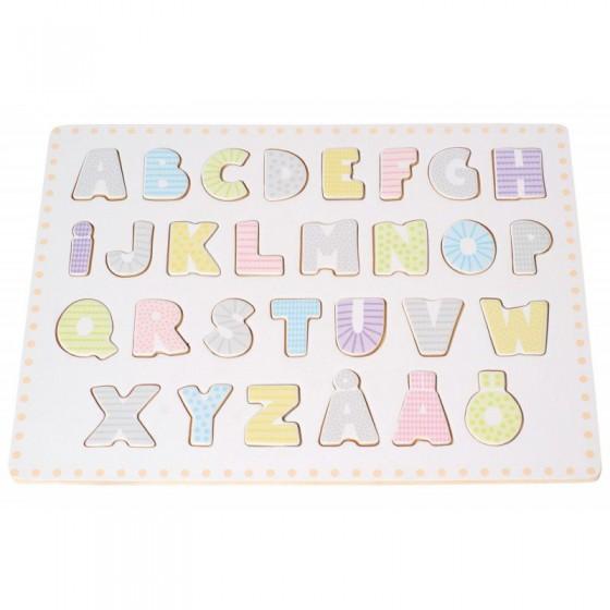 Jabadabado Alphabet Puzzle
