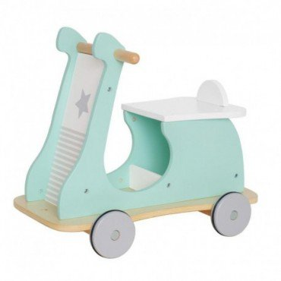 Jabadabado Drewniany jeździk mini skuter