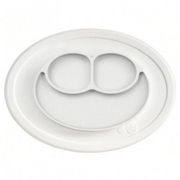 EZPZ silicone plate washer small 2in1 Mini Matt White