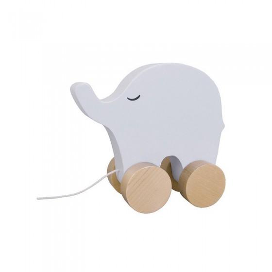 Jabadabado Drewniany słoń do ciągnięcia
