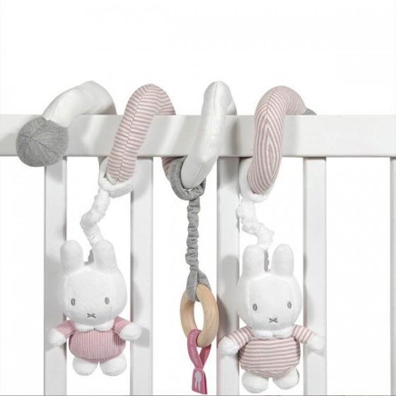 Tiamo Miffy Pink Babyrib Spiralka