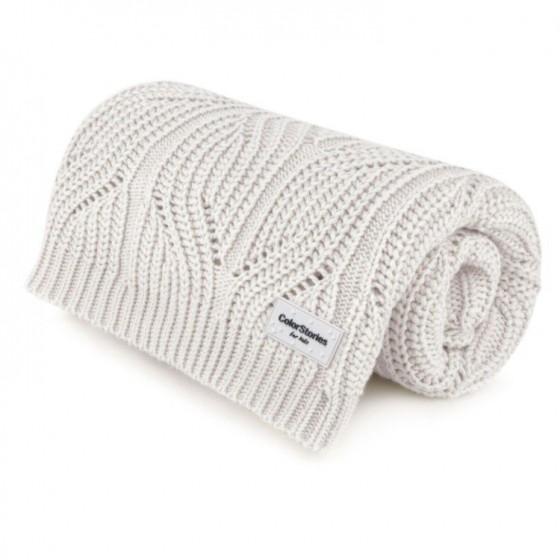 ColorStories - Cotton Blanket highlander S - Beige
