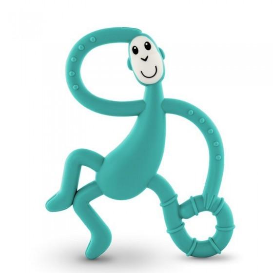 Matchstick Monkey Dancing Green Terapeutyczny Gryzak Masujacy ze Szczoteczka
