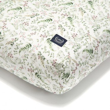 La Millou BED SHEET GOOD NIGHT 60 x 120 cm - WILD BLOSSOM FOREST