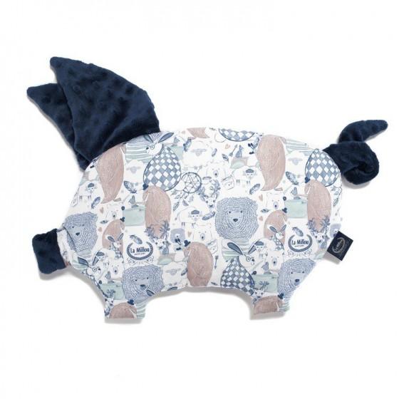 LA Millou pillow SLEEPY PIG FAMILY LA Millou